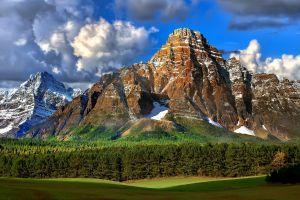 mountains nature rocky mountains landscape