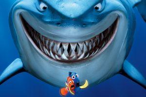 movie poster animated movies finding nemo shark movies