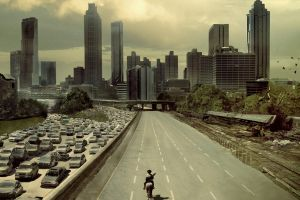 movie poster apocalyptic city the walking dead movies