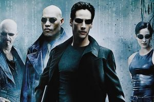 movie poster movies keanu reeves trinity (movies) shades laurence fishburne the matrix 1999(year)