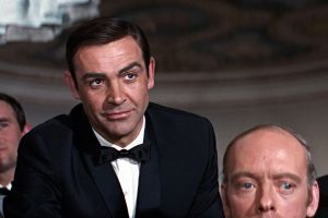 movie scenes sean connery james bond tuxedo actor men smiling
