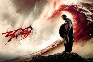 movies 300: rise of an empire shield sword waves