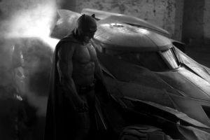 movies batmobile monochrome dc comics batman ben affleck batman v superman: dawn of justice