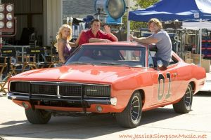 movies dodge charger car jessica simpson