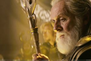 movies marvel cinematic universe anthony hopkins gungnir odin