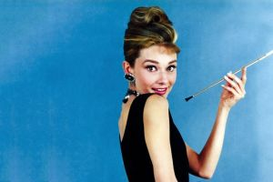 movies smoking audrey hepburn breakfast at tiffany's women actress