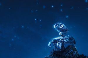 movies wall·e stars night robot pixar animation studios