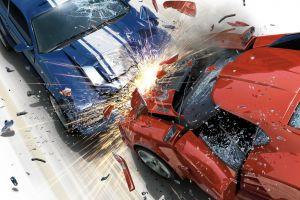 muscle cars burnout (video game) lamborghini destruction video games crash