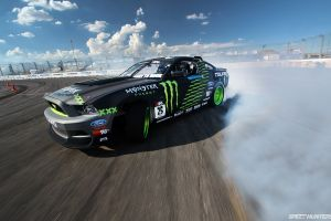 muscle cars car speedhunters ford mustang monster energy