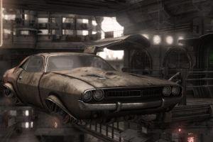 muscle cars futuristic car