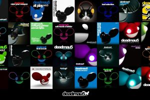 music collage deadmau5
