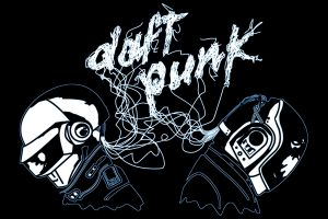 music daft punk digital art