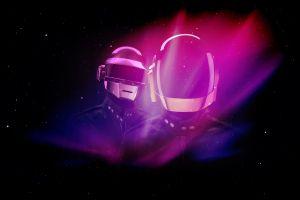 music helmet daft punk digital art