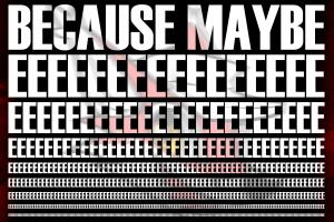 music typography lapfox trax