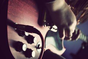 musical instrument music blurred guitar musician