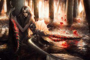 naga fantasy art fantasy girl