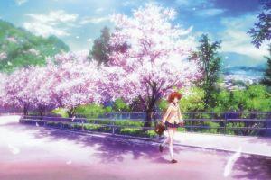 nagisa furukawa furukawa nagisa clannad anime anime girls