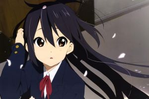 nakano azusa k-on! anime girls