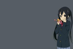 nakano azusa simple background k-on!