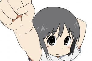 nano shinonome anime nichijou