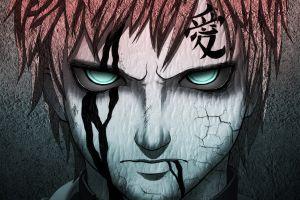 naruto shippuuden eyes anime anime boys gaara artwork