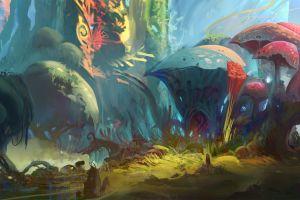 nature artwork fantasy art concept art