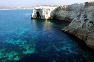nature cliff sea landscape