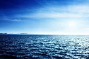 nature horizon water sea sky