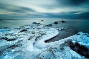 nature ice sea snow winter blue horizon