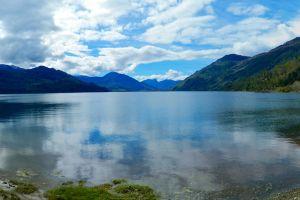 nature landscape lake chile