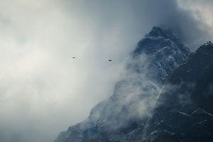 nature mountains mist