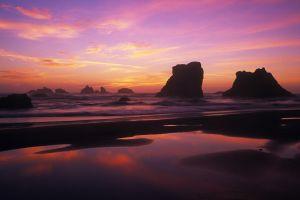 nature sea sky oregon