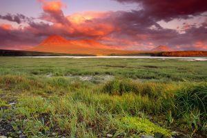 nature sky clouds landscape sunset