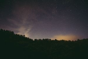 nature stars sky space