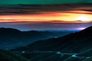 nature sunlight sky landscape
