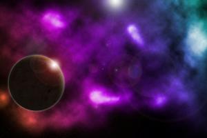 nebula space space art planet deep space digital art