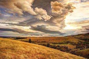 new zealand clouds sky nature landscape