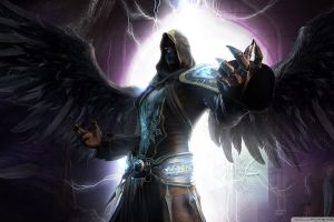night shadow dark angel force dark fantasy wings angel last chaos magician