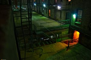 night stairs road national geographic city new york city lights