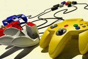 nintendo 64 controllers retro games video games