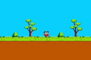 nintendo trees pixel art laughing pixelated nintendo entertainment system dog video games duck hunt