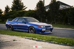 nissan skyline r32 nissan nissan skyline blue cars car