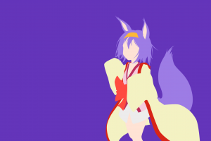 no game no life anime vectors hatsuse izuna vector