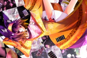 no game no life purple hair anime inumimi manga animal ears hatsuse izuna anime girls purple eyes