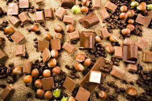 nuts food chocolate dessert