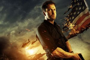 olympus has fallen flag movies stars and stripes gerard butler fire