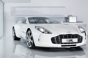 one-77 car white cars aston martin vehicle