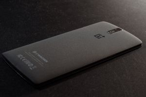 oneplus one technology smartphone black