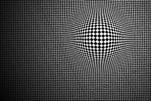 optical illusion abstract monochrome