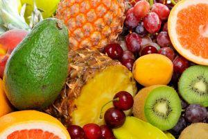orange fruit cherries (food) food grapes kiwi (fruit)